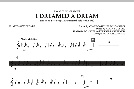 Michael Brown I Dreamed a Dream (from