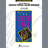 Michael Giacchino Highlights from Jurassic World: Fallen Kingdom (arr. Michael Brown) - Mallet Percussio Sheet Music and Printable PDF Score   SKU 404057