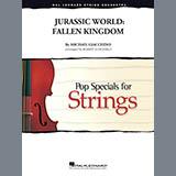 Michael Giacchino Jurassic World: Fallen Kingdom (arr. Robert Longfield) - Violin 1 Sheet Music and Printable PDF Score   SKU 407928