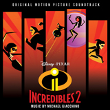 Download or print Michael Giacchino Pow! Pow! Pow! - Mr. Incredibles Theme (from The Incredibles 2) Digital Sheet Music Notes and Chords - Printable PDF Score