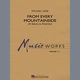 Michael Oare From Every Mountainside (A Salute to America) - Eb Alto Saxophone 2 Sheet Music and Printable PDF Score | SKU 329006