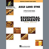 Michael Sweeney Auld Lang Syne - Bb Bass Clarinet Sheet Music and Printable PDF Score | SKU 345852