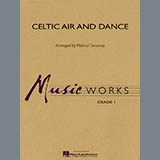 Michael Sweeney Celtic Air and Dance - Bb Bass Clarinet Sheet Music and Printable PDF Score | SKU 349723