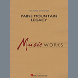 Michael Sweeney Paine Mountain Legacy - Bb Clarinet 1 Sheet Music and Printable PDF Score | SKU 454861