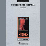 Mike Hannickel Concerto For Triangle - Bass Sheet Music and Printable PDF Score | SKU 293699