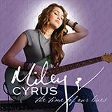 Download or print Miley Cyrus Kicking And Screaming Digital Sheet Music Notes and Chords - Printable PDF Score