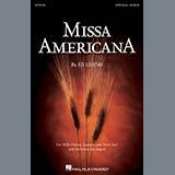 Ed Lojeski Missa Americana - Bass Sheet Music and Printable PDF Score | SKU 266702