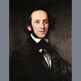 Felix Mendelssohn Bartholdy Moderato Sheet Music and Printable PDF Score | SKU 362645