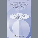Steve Zegree More I Cannot Wish You Sheet Music and Printable PDF Score | SKU 89940