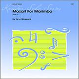 Glassock Mozart For Marimba Sheet Music and Printable PDF Score | SKU 124744