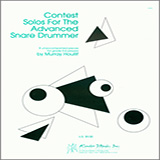 Murray Houllif Contest Solos For The Advanced Snare Drummer Sheet Music and Printable PDF Score | SKU 371334
