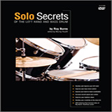 Murray Houllif Solo Secrets - Of The Left Hand And Bass Drum Sheet Music and Printable PDF Score | SKU 372156