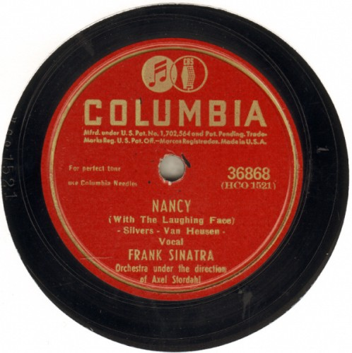 Frank Sinatra Nancy - With The Laughing Face Sheet Music and Printable PDF Score   SKU 83555