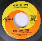Download or print Nat King Cole Ramblin' Rose Digital Sheet Music Notes and Chords - Printable PDF Score