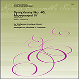 Nicholas Contorno Symphony No. 40, Movement IV (Allegro Assai) - Bb Clarinet Sheet Music and Printable PDF Score | SKU 351409