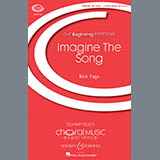Nick Page Imagine The Song Sheet Music and Printable PDF Score | SKU 153895