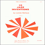 Download or print Niehaus 10 Jazz Inventions Digital Sheet Music Notes and Chords - Printable PDF Score