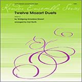 North Twelve Mozart Duets Sheet Music and Printable PDF Score | SKU 124803