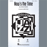 Charlie Parker Now's the Time (arr. Kirby Shaw) - Bass Sheet Music and Printable PDF Score | SKU 403785