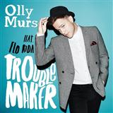 Olly Murs Troublemaker (feat. Flo Rida) Sheet Music and Printable PDF Score | SKU 115170