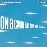 Alan Jay Lerner On A Clear Day (You Can See Forever) Sheet Music and Printable PDF Score | SKU 61258
