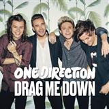 Download or print One Direction Drag Me Down Digital Sheet Music Notes and Chords - Printable PDF Score