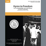 Oscar Peterson Hymn to Freedom (arr. Jim Clancy) Sheet Music and Printable PDF Score | SKU 432526