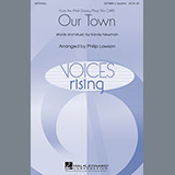 James Taylor Our Town (from Cars) (arr. Philip Lawson) Sheet Music and Printable PDF Score | SKU 72119