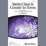 Paul Langford Santa Claus Is Comin' To Town - Drum Set Sheet Music and Printable PDF Score | SKU 290093
