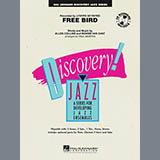 Paul Murtha Free Bird - Baritone Sax Sheet Music and Printable PDF Score   SKU 276267