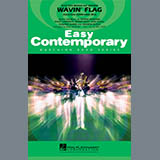 Paul Murtha Wavin' Flag - Bb Clarinet Sheet Music and Printable PDF Score | SKU 339266