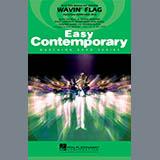 Paul Murtha Wavin' Flag - Eb Baritone Sax Sheet Music and Printable PDF Score | SKU 339269