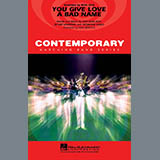 Paul Murtha You Give Love a Bad Name - Baritone T.C. Sheet Music and Printable PDF Score   SKU 277274
