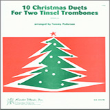 Pederson 10 Christmas Duets For Two Tinsel Trombones Sheet Music and Printable PDF Score | SKU 124822