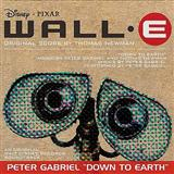 Download or print Peter Gabriel Down To Earth (from WALL-E) Digital Sheet Music Notes and Chords - Printable PDF Score