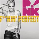Download or print Pink F**kin' Perfect Digital Sheet Music Notes and Chords - Printable PDF Score