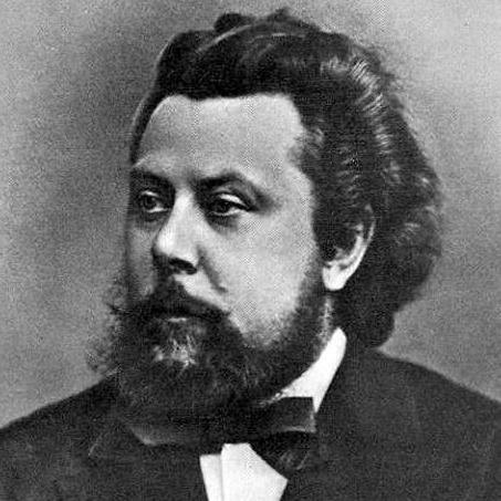 Modest Mussorgsky image and pictorial
