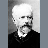Pyotr Il'yich Tchaikovsky Ancient French Song Sheet Music and Printable PDF Score | SKU 363003