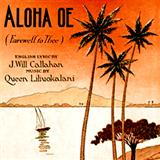 Queen Liliuokalani Aloha Oe Sheet Music and Printable PDF Score | SKU 166178