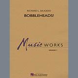 Richard L. Saucedo Bobbleheads! - Bb Bass Clarinet Sheet Music and Printable PDF Score | SKU 331011