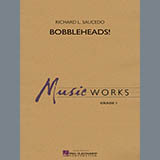 Richard L. Saucedo Bobbleheads! - Bb Clarinet 1 Sheet Music and Printable PDF Score | SKU 331009