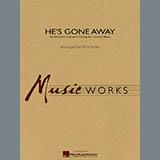 Rick Kirby He's Gone Away (An American Folktune Setting for Concert Band) - Eb Baritone Saxophone Sheet Music and Printable PDF Score | SKU 278224