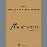 Rick Kirby Three Colonial Moments - Euphonium T.C. Sheet Music and Printable PDF Score | SKU 330918