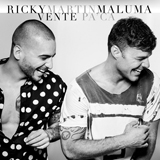 Download or print Ricky Martin Vente Pa' Ca (Feat. Maluma) Digital Sheet Music Notes and Chords - Printable PDF Score