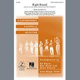 Flo Rida Right Round (arr. Deke Sharon) Sheet Music and Printable PDF Score | SKU 96839