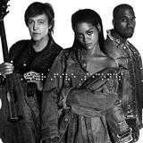 Download or print Rihanna & Kanye West & Paul McCartney FourFiveSeconds Digital Sheet Music Notes and Chords - Printable PDF Score