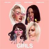 Download or print Rita Ora Girls (featuring Cardi B, Bebe Rexha and Charli XCX) Digital Sheet Music Notes and Chords - Printable PDF Score