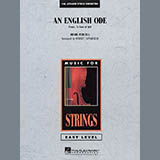 Robert Longfield An English Ode (Come, Ye Sons of Art) - String Bass Sheet Music and Printable PDF Score | SKU 346411