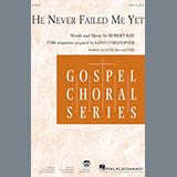 Robert Ray He Never Failed Me Yet (orch. Keith Christopher) - Oboe Sheet Music and Printable PDF Score | SKU 265823