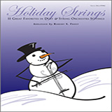 Robert S. Frost Holiday Strings - Piano (opt.) Sheet Music and Printable PDF Score | SKU 124929